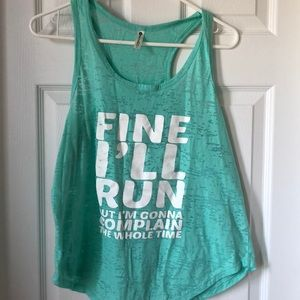 Tops - Large funny workout top